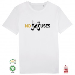 T-Shirt Bio No excuses