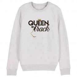 Sweat-Shirt Queen of track